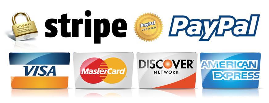 Stripe/PayPal